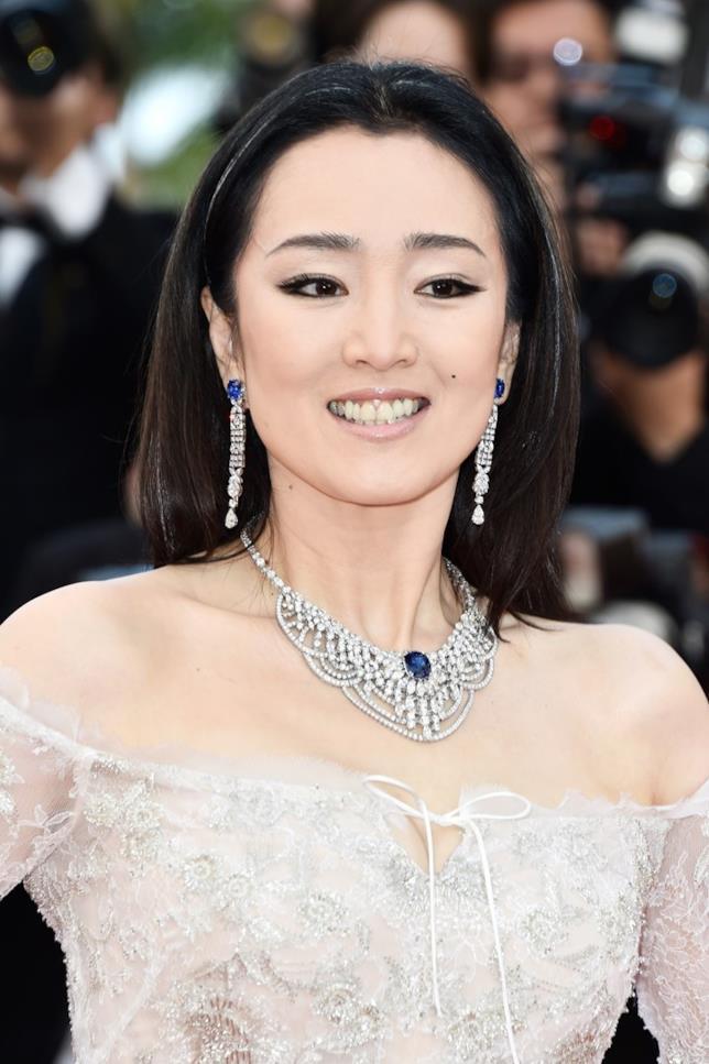 Gong Li in primo piano