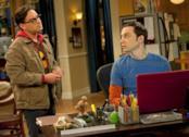 Leonard e Sheldon da The Big Bang Theory