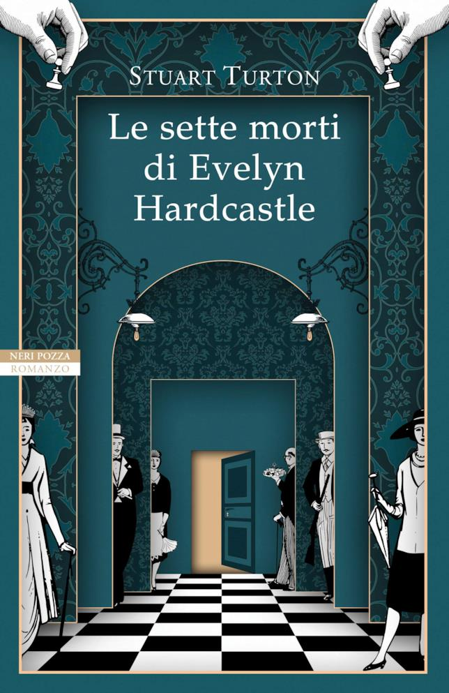 La copertina di Le sette morti di Evelyn Hardcastle