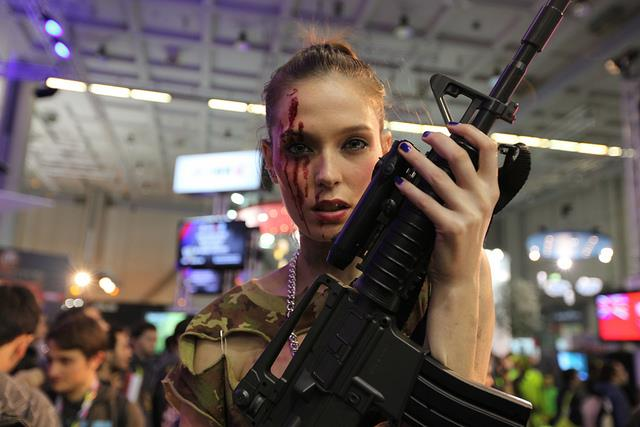 Un cosplayer alla Milan Games Week