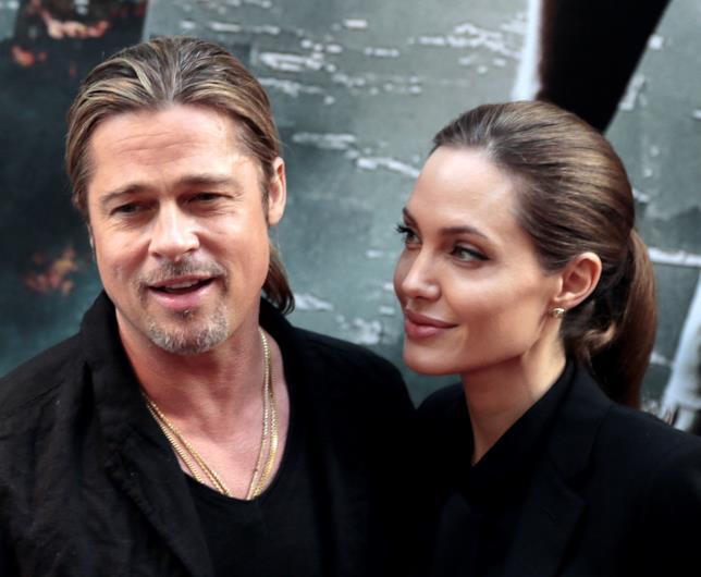 Un vecchio scatto di Brad Pitt e Angelina Jolie