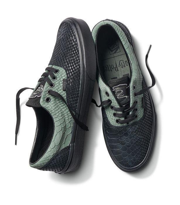 Le nuove scarpe Vans ispirate alla casa di Serpeverde