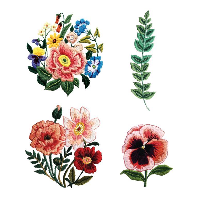 Tessa Perlow ha disegnato questi tatuaggi per Tattly