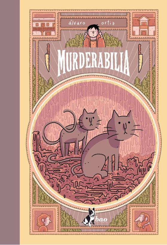La copertina di Murderabilia