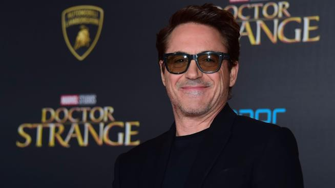 Robert Downey Jr. alla prima di Doctor Strange