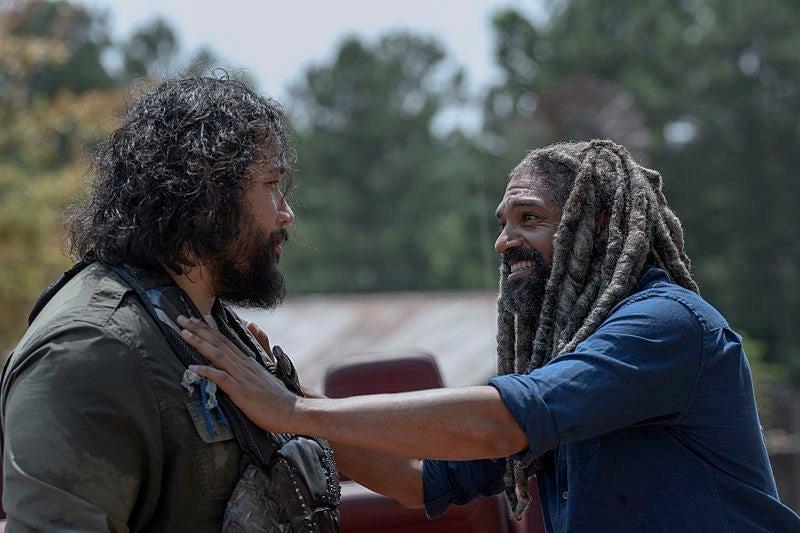The Walking Dead 10x04: Jerry con Ezekiel