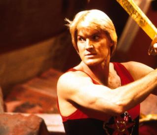 Sam J. Jones nei panni di Flash Gordon