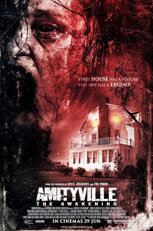 La Locandina di Amityville - Il Risveglio