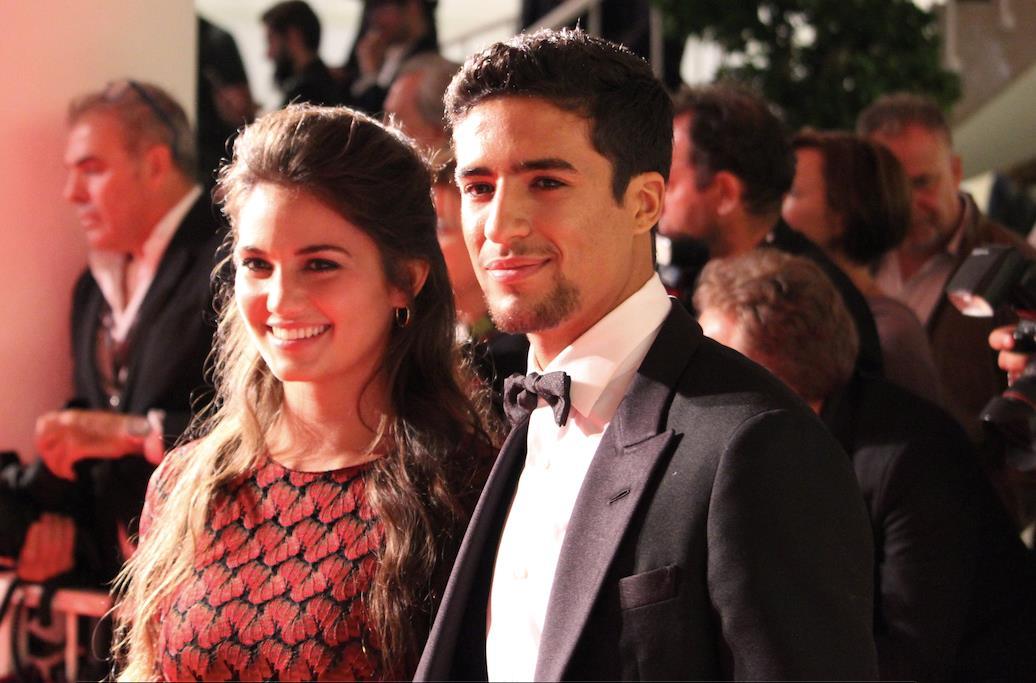 Ophélie Bau e Shaïn Boumedine sul red carpet di Mektoub, My Love: Canto Uno
