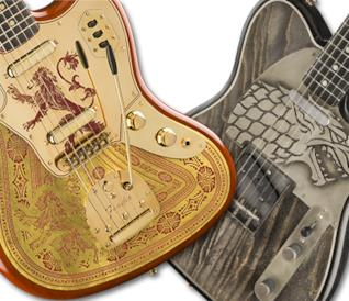La Jaguar Lannister e la Stak Tele di Fender