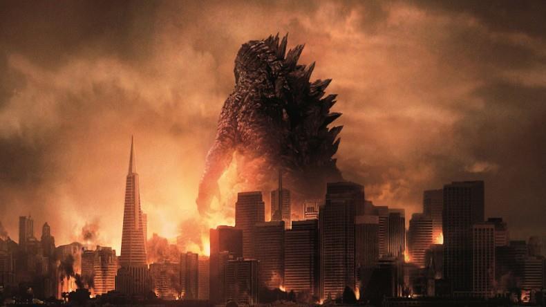 Godzilla nel poster