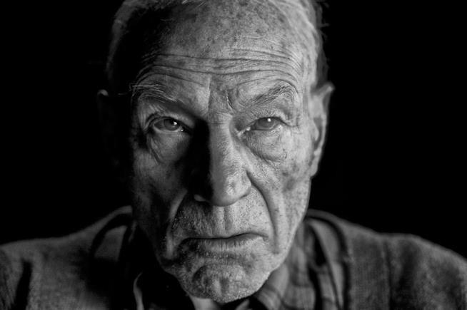 Un anziano Professor X in Wolverine 3