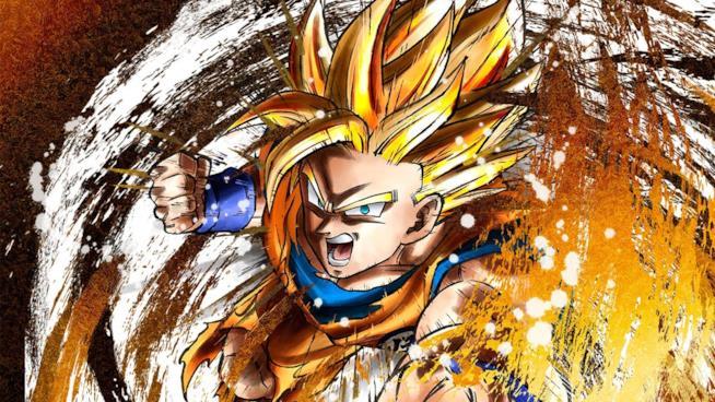 La cover ufficiale di Dragon Ball FighterZ