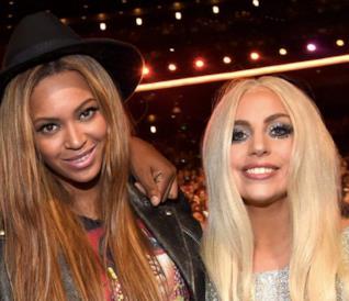 Beyoncé e Lady Gaga in primo piano
