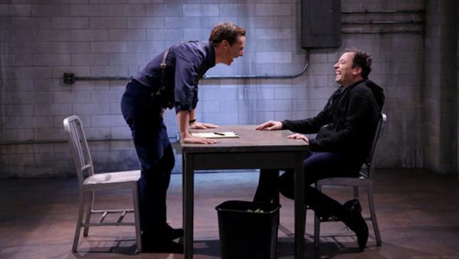 Benedict Cumberbatch al The Tonight Show con Jimmy Fallon