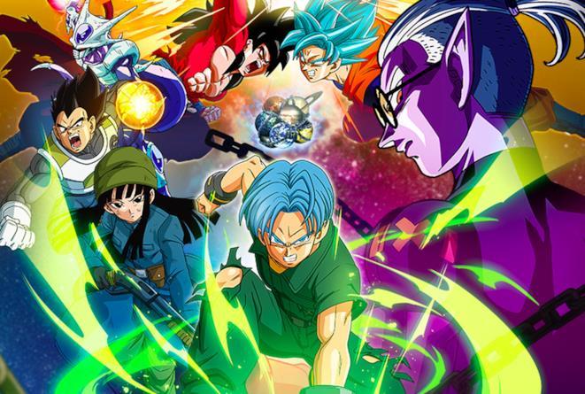 Dragon Ball Heroes cover personaggi principali