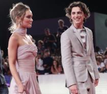 Lily-Rose Depp e Timothée Chalamet a Venezia 76