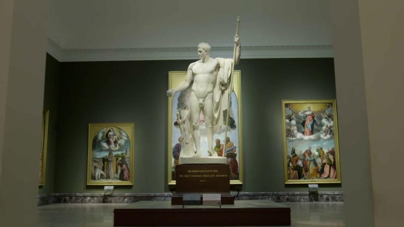 Pinacoteca di Brera - Musei - trasmissione SKY