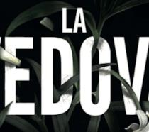 Un dettaglio della copertina di La Vedova