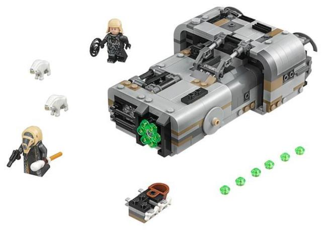 Dettagli sul set LEGO Il Landspeeder di Moloch di LEGO