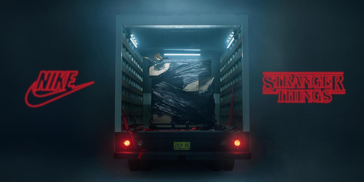 Nike presenta la collezione a tema Stranger Things