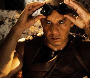 Vin Diesel nei panni di Riddick