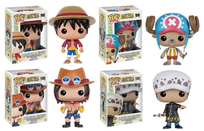 One Piece Funko Pop S1