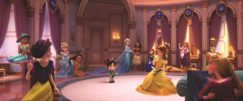 Le principesse Disney incontrano Vanellope