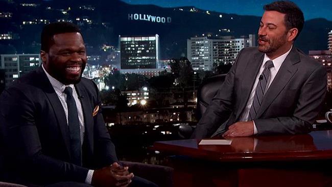 50 Cent al Jimmy Kimmel Live