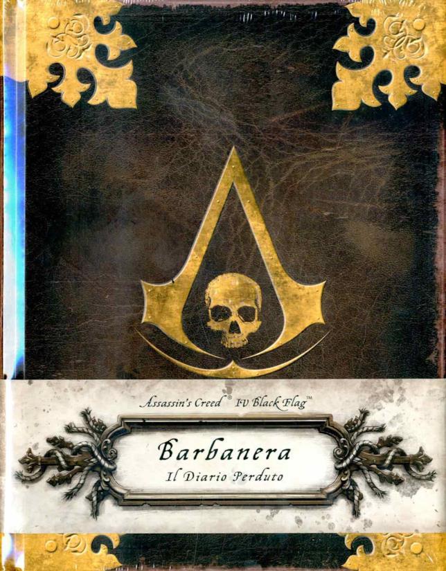 Uno dei libri di Assassin's Creed