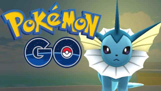 Vaporeon, Pokémon GO
