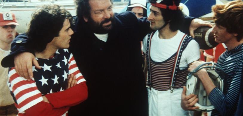 Bud Spencer in una scena del film