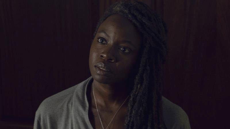 Michonne in The Walking Dead 9 dopo il salto temporale
