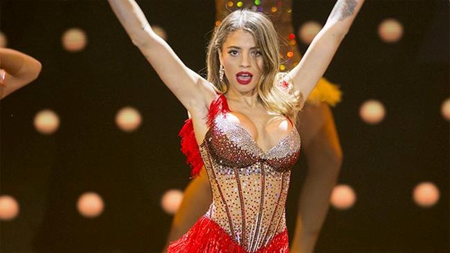 Chiara Nasti in Burlesque, nel quarto serale di Dance Dance Dance