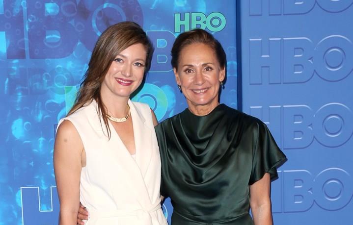 Laurie Metcalf e la figlia Zoe Perry insieme ad un evento
