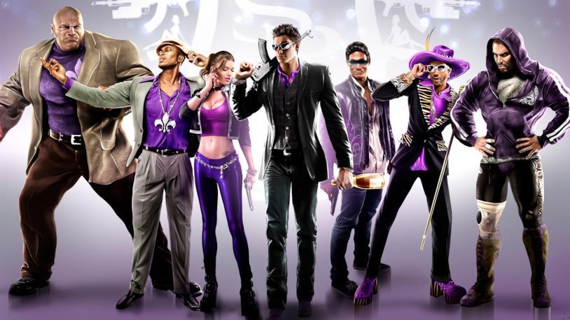 Saints Row gang del videogioco