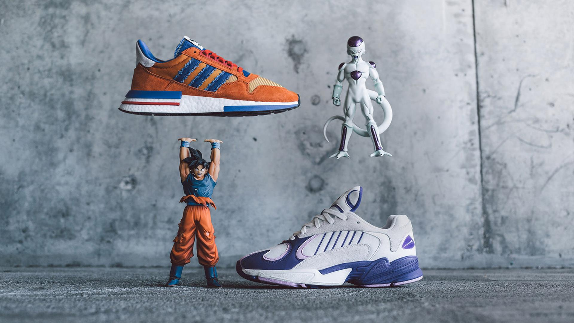 Adidas x Dragon Ball Z, tutti i modelli di scarpe ispirati