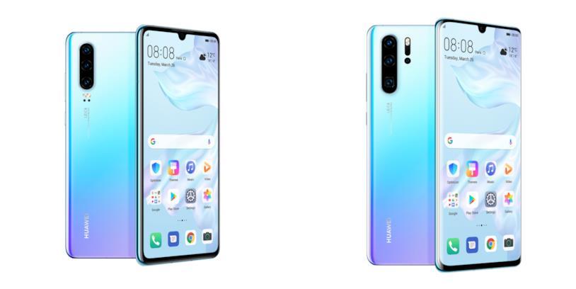 Immagine stampa di Huawei P30 e P30 Pro