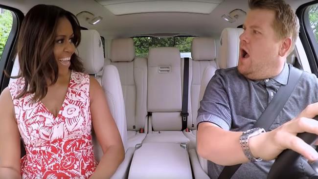 Carpool Karaoke con la First Lady Michelle Obama