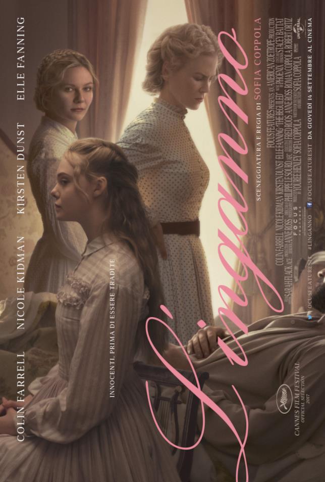 Poster italiano del film L'inganno