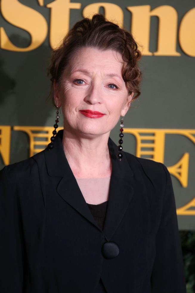 L'attrice Lesley Manville