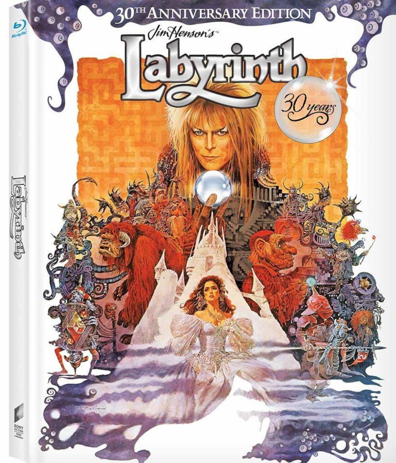 La copertina del Blu-ray di Labyrinth - Dove tutto è possibile