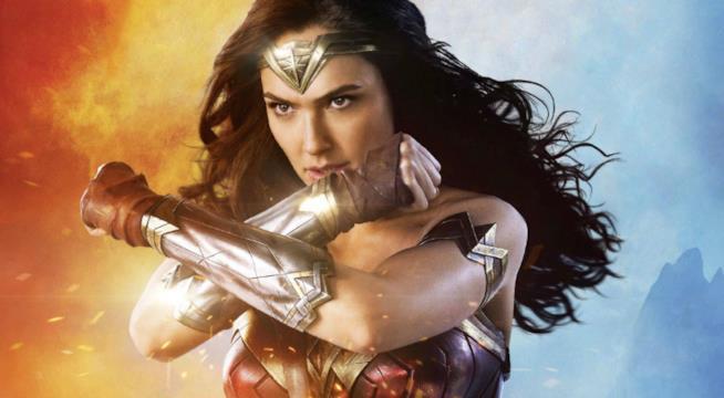 Wonder Woman in primo piano