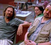 Scena del film Il grande Lebowski al bowling