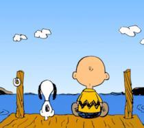 Due dei Peanuts più famosi, Charlie Brown e Snoopy