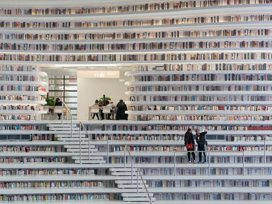I libri della libreria di Tianjin