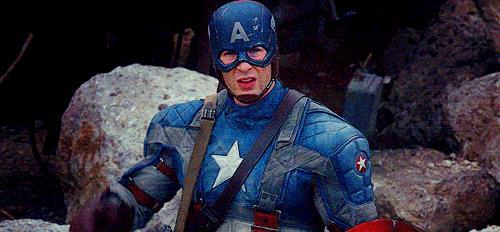 Il saluto di Capitan America