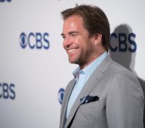Un sorridente Michael Weatherly ai CBS Upfront 2016