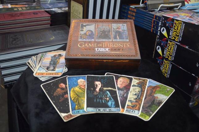 Un'immagine dei tarocchi di Game of Thrones direttamente dal San Diego Comic-Con