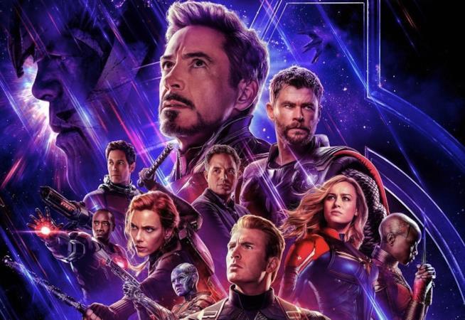 Un primo piano degli Avengers nel poster ufficiale di Endgame
